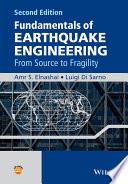 Fundamentals of Earthquake Engineering Book