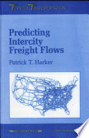 Predicting Intercity Freight Flows