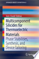 Multicomponent Silicides for Thermoelectric Materials