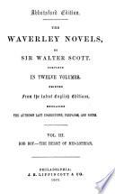 The Waverley Novels Rob Roy The Heart Of Mid Lothian