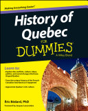 History of Quebec For Dummies Book