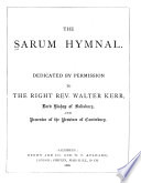 The Sarum Hymnal