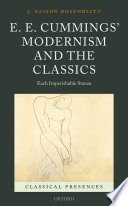 E  E  Cummings  Modernism and the Classics