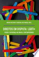 Book cover for Direitos em disputa LGBTI+, poder e diferença no Brasil contemporâneo.