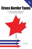 Cross Border Taxes
