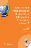 Research and Practical Issues of Enterprise Information Systems II Volume 2