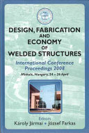 Design Fabrication And Economy Of Welded Structures Book PDF