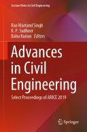 Advances in Civil Engineering Pdf/ePub eBook