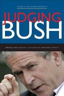 Judging Bush Book