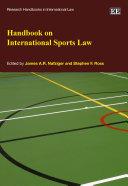 Handbook on International Sports Law