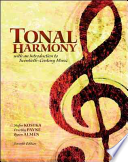 Tonal Harmony with Audio CS and Workbook
