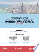 Proceedings Of The International Conference On Martensitic Transformations Chicago Book PDF