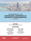 Proceedings of the International Conference on Martensitic Transformations  Chicago