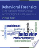 Behavioral Forensics Book
