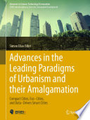 Advances in the Leading Paradigms of Urbanism and their Amalgamation