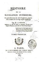 Histoire de la navigation intérieure