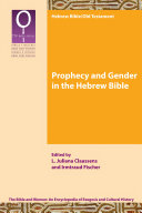 Pdf Prophecy and Gender in the Hebrew Bible Telecharger