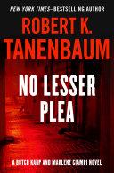 No Lesser Plea