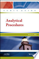 Audit Guide: Analytical Procedures