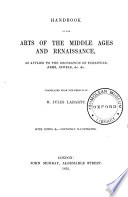Handbook of the Arts of the Middle Ages and Renaissance