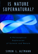 Is Nature Supernatural