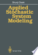 Applied Stochastic System Modeling