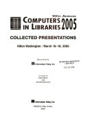 Computers in Libraries