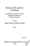 Roman life and art in Britain