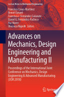 Advances on Mechanics  Design Engineering and Manufacturing II Book