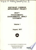 Draft Programmatic Environmental Impact Statement  Administrative action