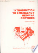 Introduction to Emergency Medical Services Book