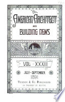 American Architect and Architecture Book