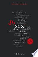 Sex. 100 Seiten