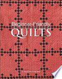 Beginner Friendly Quilts Book PDF