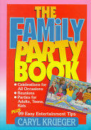 The Family Party Book