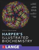 Cover of Harper's Illustrated Biochemistry 31/e