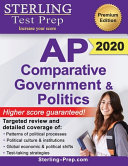 Sterling Test Prep Ap Comparative Government And Politics Complete Content Review For Ap Exam