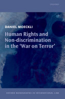 Human Rights and Non discrimination in the  War on Terror