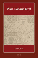 Peace in Ancient Egypt