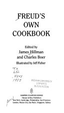 Freud's Own Cookbook