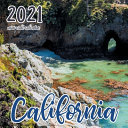 California 2021 Mini Wall Calendar