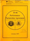 Performance Partnership Agreement