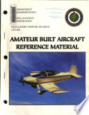 Amateur Built Aircraft Reference Material
