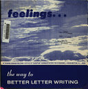 Feelings  the Way to Better Letter Writing