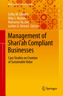 Management of Shari'ah Compliant Businesses