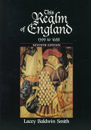 This Realm Of England 1399 To 1688