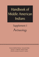 Supplement to the Handbook of Middle American Indians, Volume 1