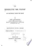 The Resolute Mr. Pansy