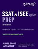 SSAT   ISEE Middle   Upper Level Prep