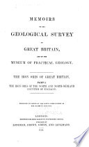 The Iron Ores of Great Britain: The iron ores of the north and north-midland counties of England